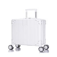 行李箱女小型旅行箱箱子包拉杆箱18寸登机箱万向轮密码箱迷你韩版 18寸(终身质保)