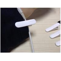 耳机线固定夹 10个装MP3MP4手机面条耳机通用配件夹子耳机线夹耳塞线固定衣夹