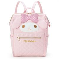 粉色超萌可爱书包新款美乐蒂双肩包女休闲旅行背包