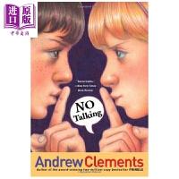 【中商原版】Andrew Clements:No Talking 安德鲁・克莱门斯:不要说话 英文原版 进口图书 儿童文