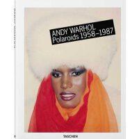 Andy Warhol: Polaroids安迪・沃霍尔摄影:宝丽来肖像 TASCHEN人像�z影书籍