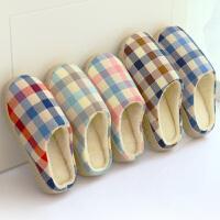 拖鞋女夏室内冬季地板防滑鞋底棉拖鞋男女情侣家用居家居可爱拖鞋