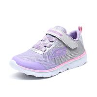斯凯奇童鞋 (SKECHERS) 小童儿童鞋魔术贴轻质运动鞋 女童舒适休闲鞋 81354N/GYLV (1岁―8岁)