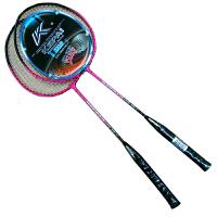 Kepai科牌 羽毛球拍 KB-1300 铝合金材质 2支装