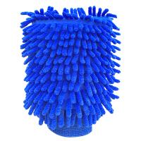 {夏季贱卖}汽车洗车手套双面擦车手套雪尼尔珊瑚虫加绒加厚抹布手套洗车工具