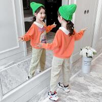 女童套装春装女孩时髦童装儿童衣服两件套