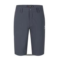 KELME卡尔美 K16C405 男士速干五分裤 薄款透气弹力短裤 户外徒步休闲中裤