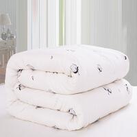 全棉花双层纱布冬季被子被芯加厚保暖纯棉春秋褥子单双人儿童被子 小棉朵