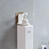 免打孔壁挂沐浴露瓶挂架洗发水收纳架卫生间放洗手液的架子