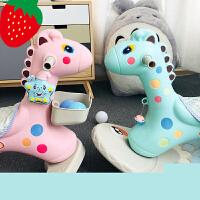 【支持*】木马儿童摇摇马两用玩具大号加厚塑料带音乐宝宝一岁生日礼物u8e