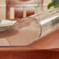 【当当专享价】 铭聚布艺 透明水晶板2 餐桌布软质玻璃PVC防水防油茶几桌布桌垫磨砂透明水晶板