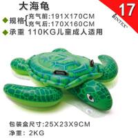 20180405224041437充气火烈鸟游泳圈大天鹅儿童坐骑水上浮床浮排气垫床
