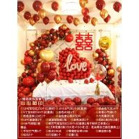 酒店婚房布置 创意浪漫婚房布置套装结婚气球装饰婚礼女方新房套餐婚庆用品大全