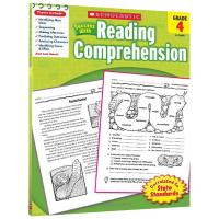 美国小学四年级英语阅读理解练习册 英文原版 scholastic Success with Reading compr
