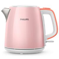 飞利浦(PHILIPS)优雅粉色早餐系列中式套装(2L迷你电饭煲HD3070+1L不锈钢电热水壶HD9348)