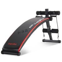 家用仰卧板健腹板多功能折叠仰卧起坐健身器材收腹器腹肌板 深灰色