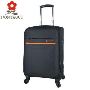 梦特娇MONTAGUT拉杆箱26寸万向轮 出国旅行搬家托运行李箱商务休闲防水牛津布