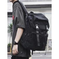 背包男士工装休闲双肩包时尚潮流大学生书包大容量旅行旅游电脑包