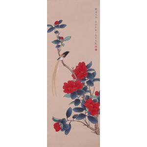 作家、画家、翻译家   陆小曼《拟宋人笔意图》