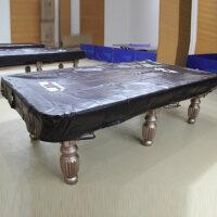 正品星牌台球桌罩标准台 美式/中式台球/英式斯诺克 仿皮防尘台罩