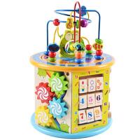 【支持礼品卡】儿童绕珠百宝箱益智早教串珠男女孩婴儿智力玩具1-2一岁宝宝玩具j6e
