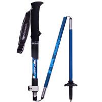开拓者(Pioneer)登山杖户外徒步手杖拐杖超轻碳纤维超短折叠杖 单支