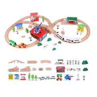 托马斯火车轨道玩具小火车套装 木制拼搭积木组合电动玩具车2-6岁 官方标配