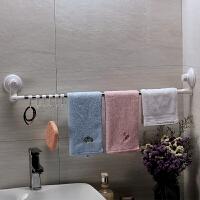 厨房挂架免打孔吸盘式挂钩置物架壁挂卫生间洗手间浴室衣架毛巾杆
