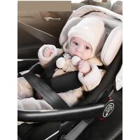 【一篮多用】婴儿提篮式汽车儿童安全座椅 宝宝摇篮 新生儿手提篮 出生-1周岁用 风尚红e6h