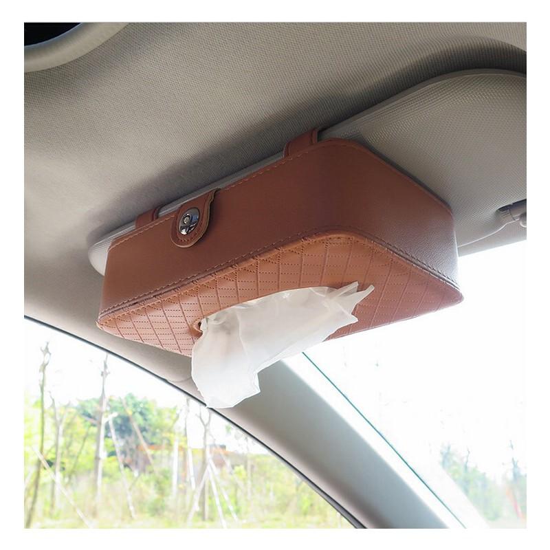 新款汽车纸巾包 车载挡阳板纸巾盒车用纸巾盒汽车收纳盒 倒挂式纸巾盒【包邮--新品上架】