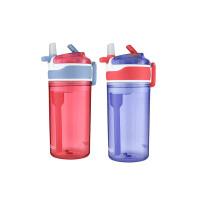 美国直邮 2018年新款 Contigo 康迪克儿童吸管杯智趣零食水杯辅食杯(384ml储水量+118ml零食库)罐*