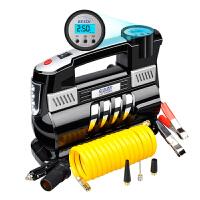车载充气泵双缸汽车打气泵车用12v便携式数显轮胎打气筒