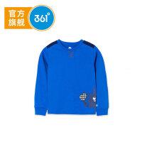 【新春3折价:29.7】361度 男童长袖针织衫 夏季新款K51814252