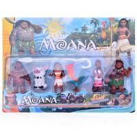 海洋奇缘Moana莫阿娜公主手办公仔摆件儿童玩偶玩具