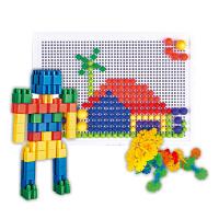 B BG ENSWEET 儿童塑料拼插插片积木玩具早教益智拼装玩具