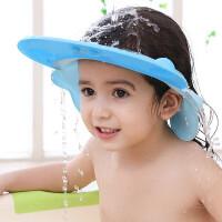 宝宝洗头帽防水护耳硅胶可调节浴帽儿童洗头发帽子小孩洗头防水护耳帽新旧两款随机发