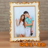 创意婚纱照相框欧式像框7 10寸相框照片框摆台影楼相框