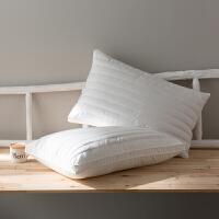 壳枕头枕芯一对助睡眠荞麦皮单人护颈椎枕柔软舒适枕