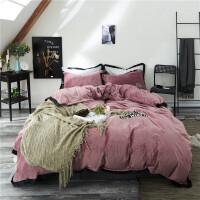 珊瑚绒四件套冬季双面法莱绒法兰绒床单床上用品被套水晶绒