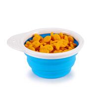 【当当自营】满趣健(munchkin)折叠碗防摔辅食碗 儿童餐具宝宝吃饭训练