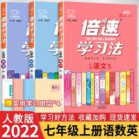 倍速学习法七年级上册语文数学英语人教版