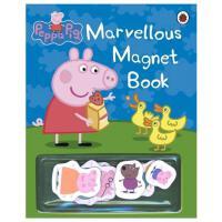 Peppa Pig粉红猪小妹 不可思议的磁铁书 英文原版小猪佩奇童书