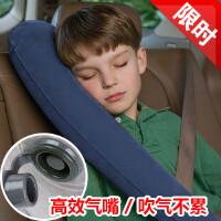 坐火车充气枕头U型枕旅行枕硬座飞机睡觉用品护颈枕睡枕头枕靠枕