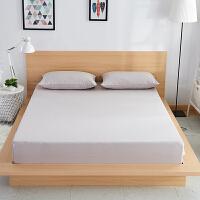 纯色全棉床笠单件防滑席梦思保护套纯棉1.8米薄棕垫床罩1.5m