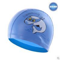 新款游泳帽男女儿童泳帽可爱卡通图案宝宝泳帽温泉护发布泳帽