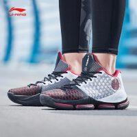 李宁篮球鞋2018新款男鞋韦德系列裂变3减震耐磨防滑支撑运动鞋ABAN011