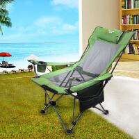 户外可折叠钓鱼椅子便携躺椅靠背扶手办公室午休沙滩休闲家用