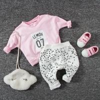 女婴儿外套装0岁6个月1秋装2宝宝3秋冬季秋款卫衣服小童
