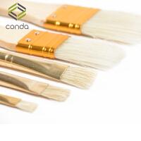儿童水彩画笔刷尼龙刷子25支装木杆画笔