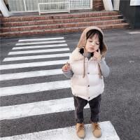 儿童棉背心秋冬装羽绒棉马甲中小童保暖外套
